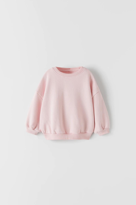 Edited Plain Oversized Sweatshirt Zara United Kingdom [ 1500 x 1000 Pixel ]