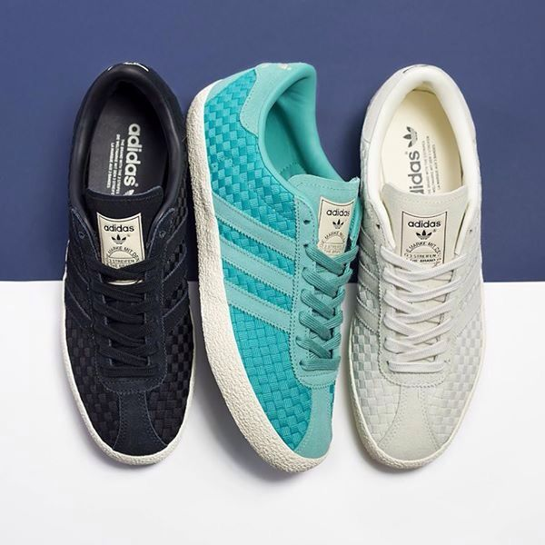 adidas Originals Footwear Gazelle 70's Woven Trainers Cream
