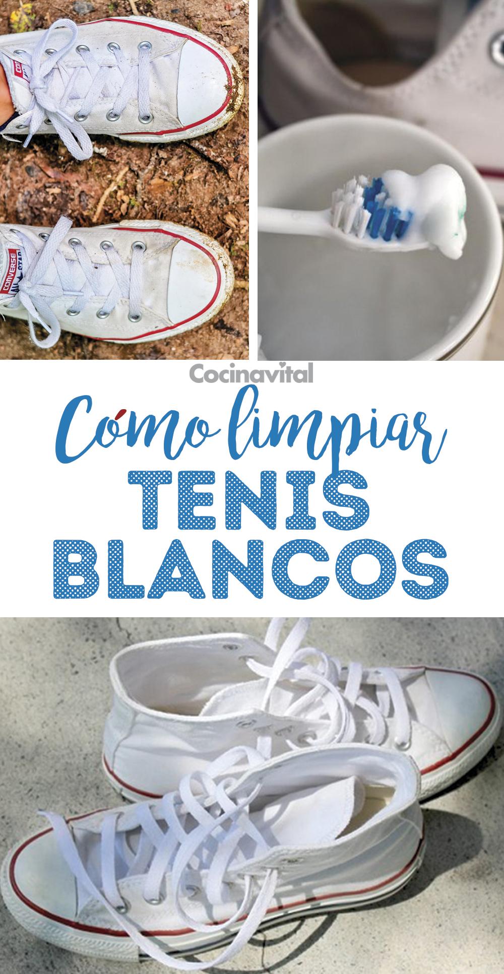 Cómo Lavar Tenis Blancos De Tela Sin Que Queden Amarillos Lavar Tenis Blancos Como Lavar Tenis Limpieza De Zapatos