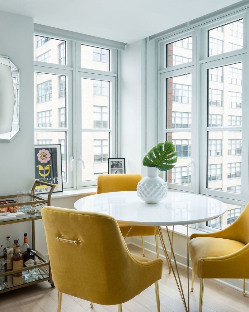 23+ Yellow dining room set Inspiration