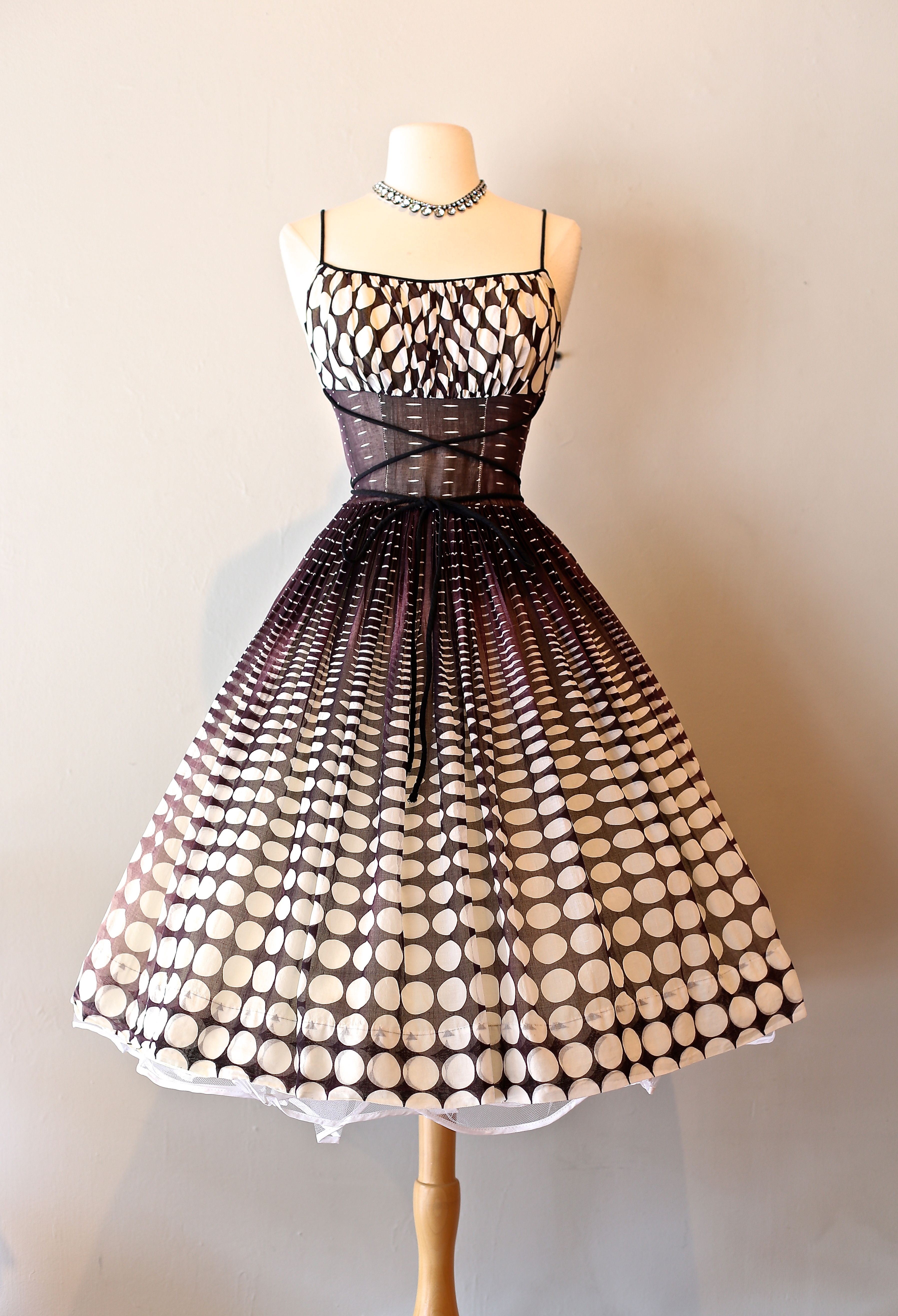 1950s Dress at Xtabay. | Vintage Dresses : Xtabay Vintage Clothing ...