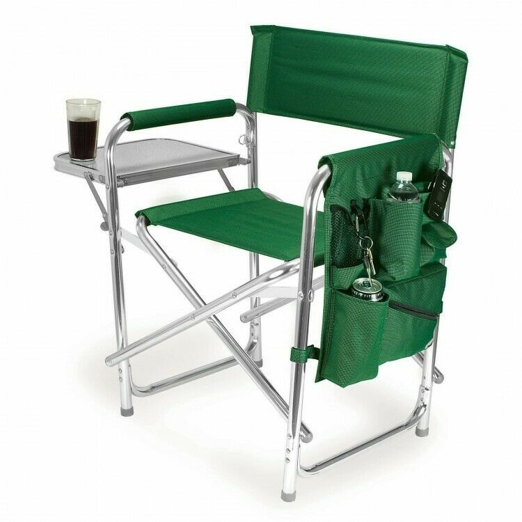 Aluminum Directors Chair Camping Picnic Cup Holder Tray