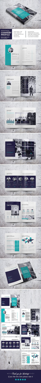 Minimal Company Profile | Diseño editorial, Editorial y Anuarios