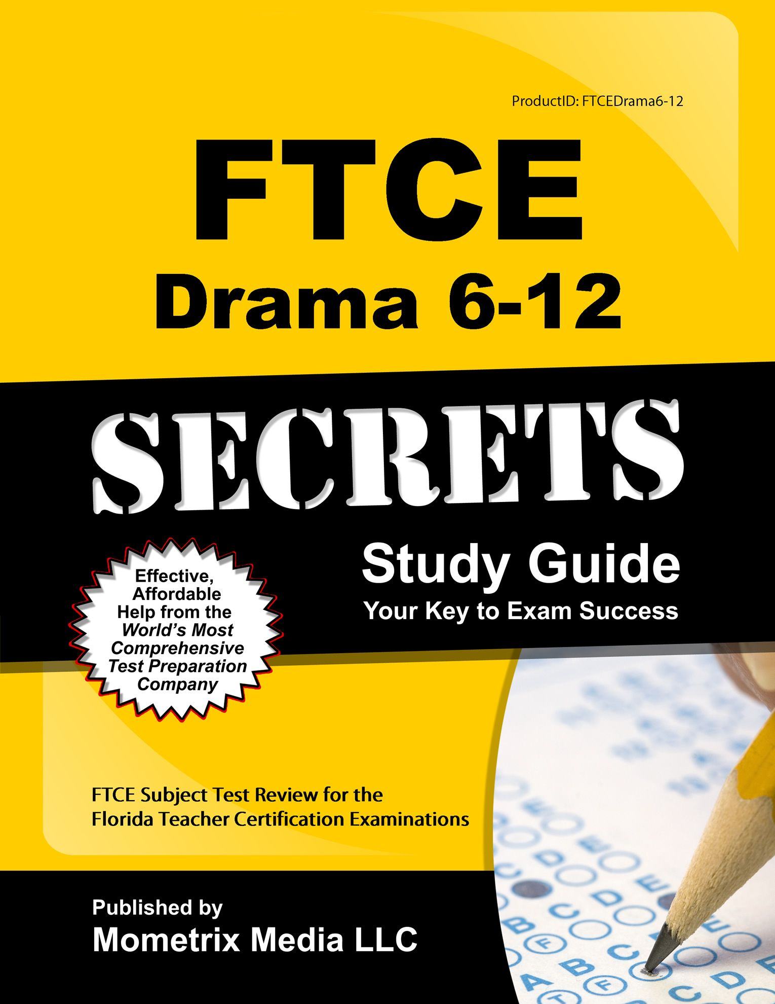 FTCE Drama 612 Study Guide