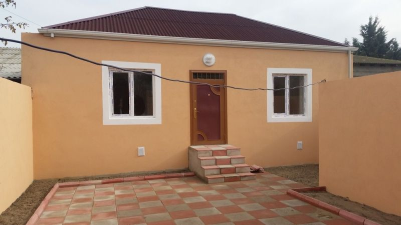 Satilir 2 Otaqli 80 M2 Ev Villa əmircan Suraxani Rayonu əmircan Qəsəbəsi Ilham Sukurov Kucəsi Unvaninda Outdoor Decor Patio Villa