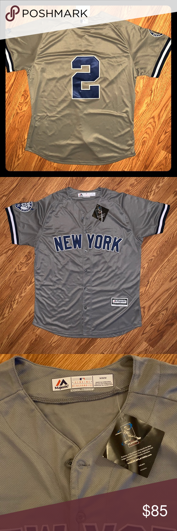 Men S New York Yankees Navy Official Cool Base Jersey Logo Back Size Xl C518d5iumq3 With Images New York Yankees Jersey Outfit Yankees