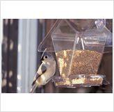 Bird Feeder Window Cafe Hopper for Bird Seed
