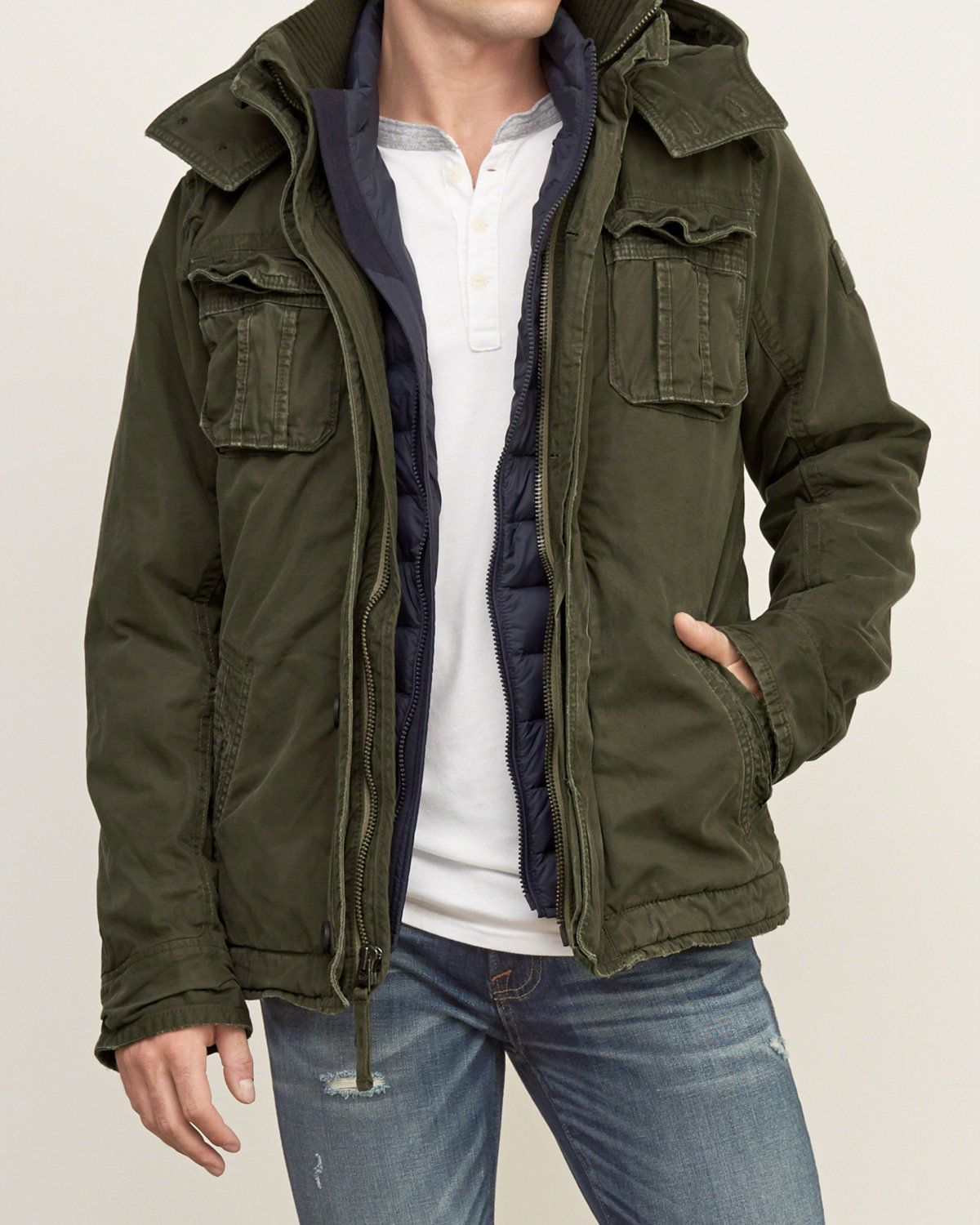 Mens A&F Premium Mountain Jacket | Mens Outerwear & Jackets ...