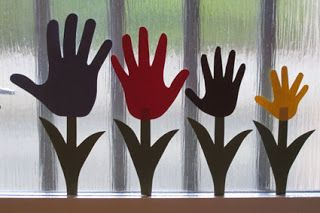 Kreasøster: Tulipan-hænder - Kreahygge for hele familien