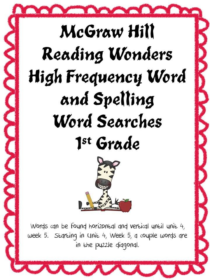 Mcgraw hill sra spelling Practice workbook For 5th Grade