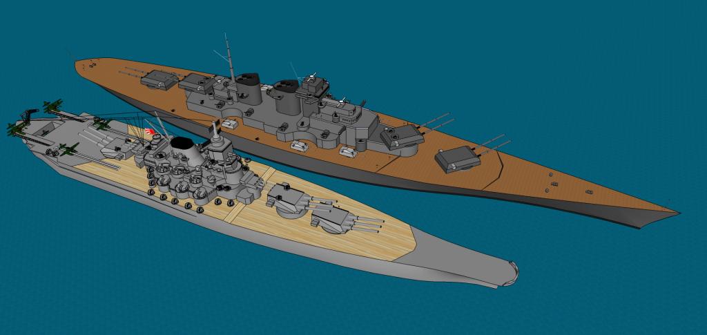 Photo By Jracule Battleship Naval Warship