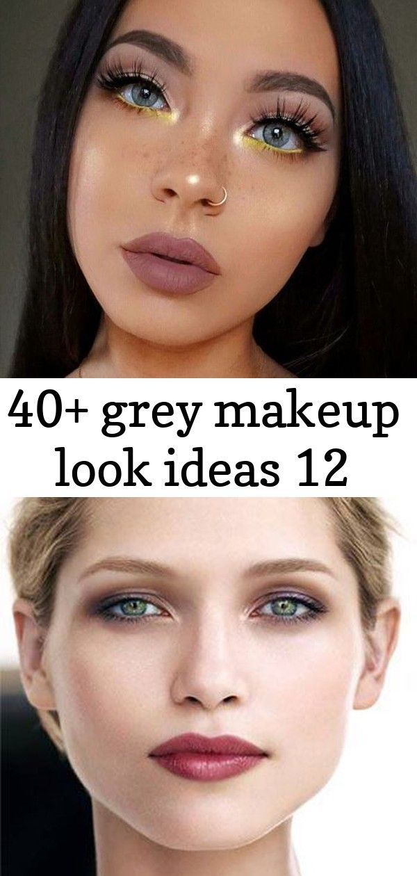 40 grey makeup look ideas 12 Beauty Makeup Hacks Tips Care Natural Photography Products Looks Ideas Goals Natural Tutorial Fashion Trends Skincare Face Skin Hair Tan Lips...