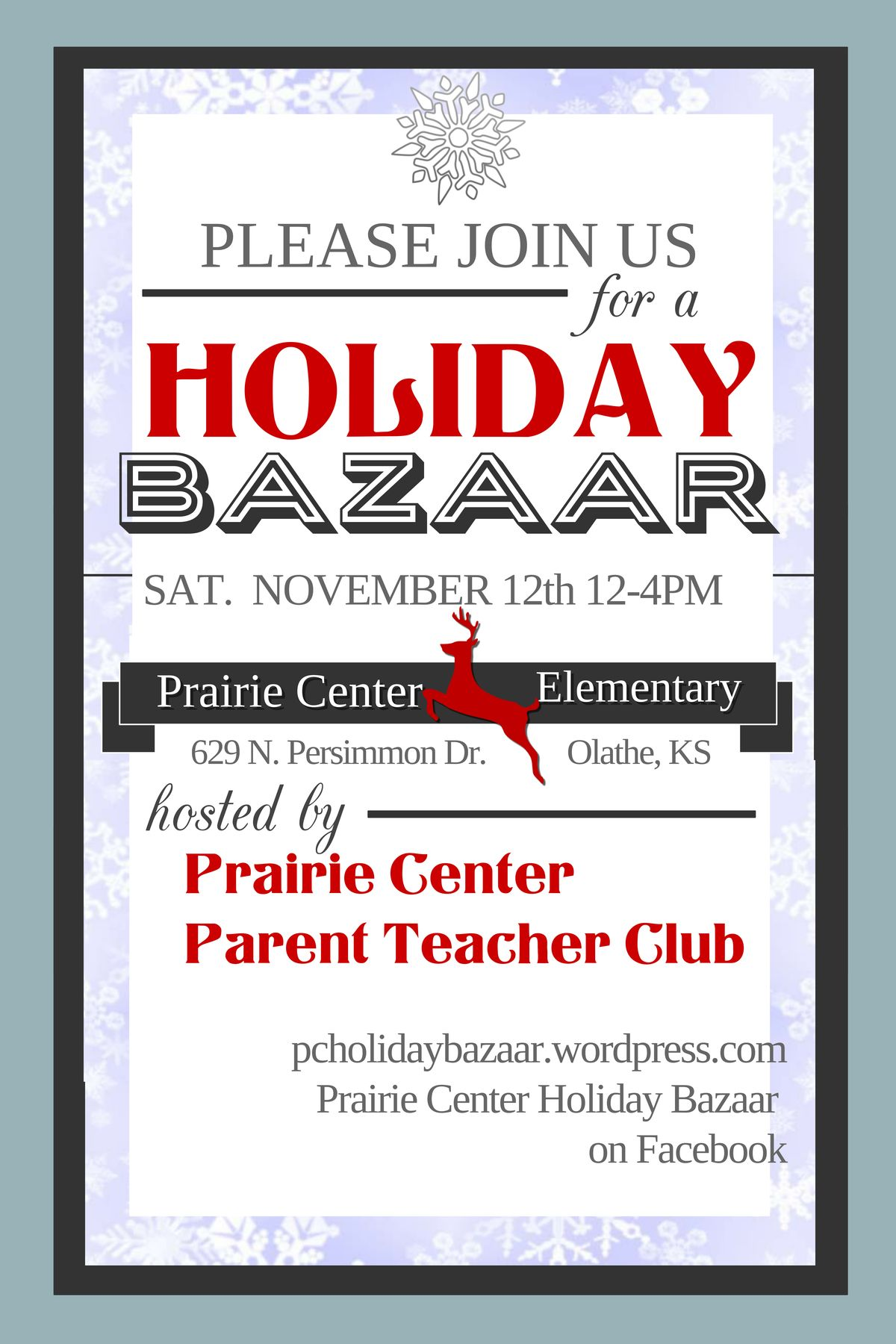 Flyer flyer holiday shop holiday