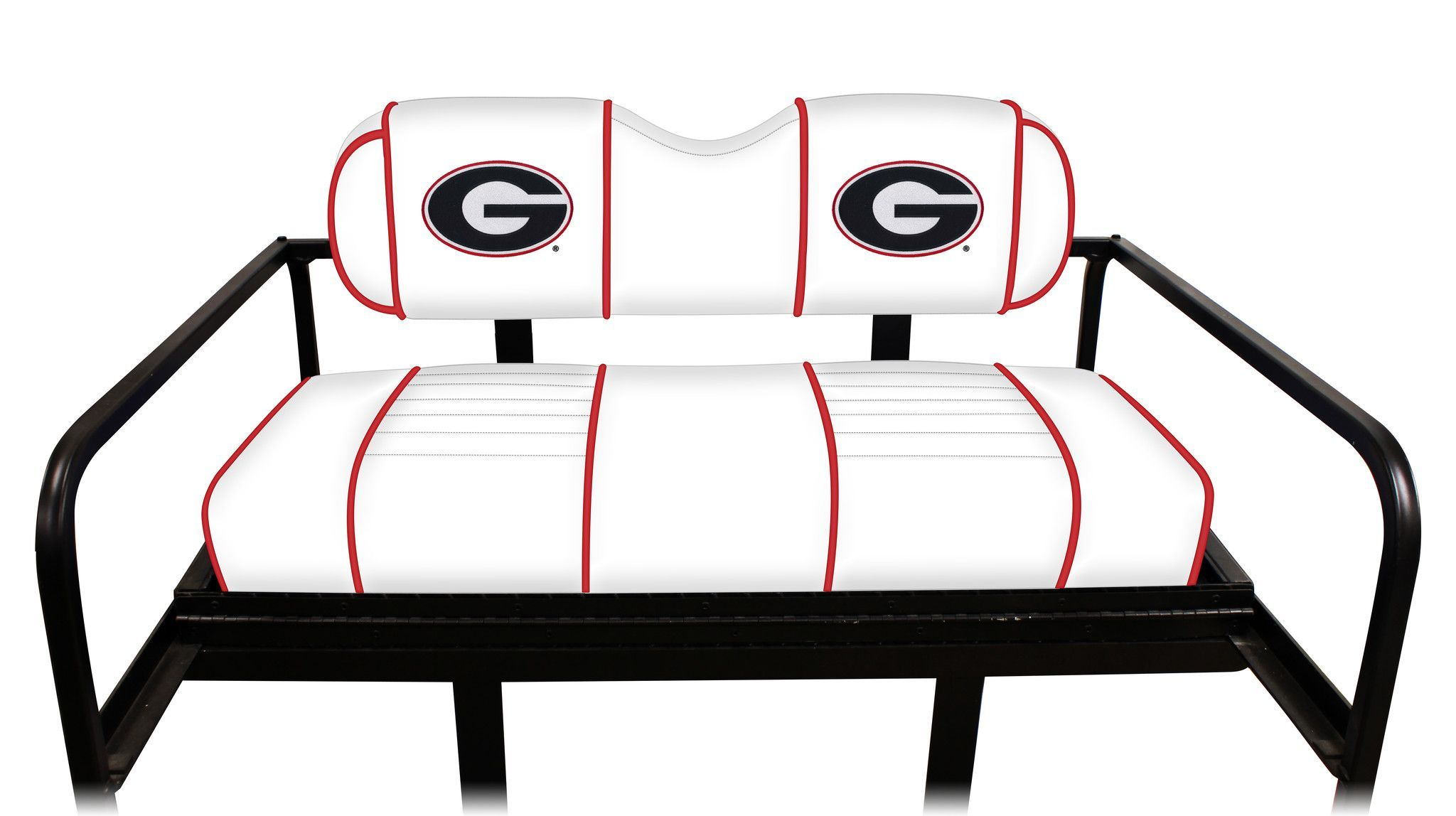 Collegiate Series - Madjax Rear Seat Covers: Georgia Bulldogs