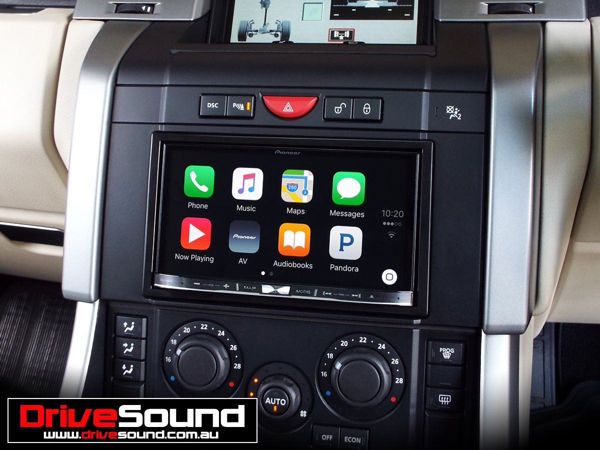 Range Rover Sport with Apple CarPlay installed by