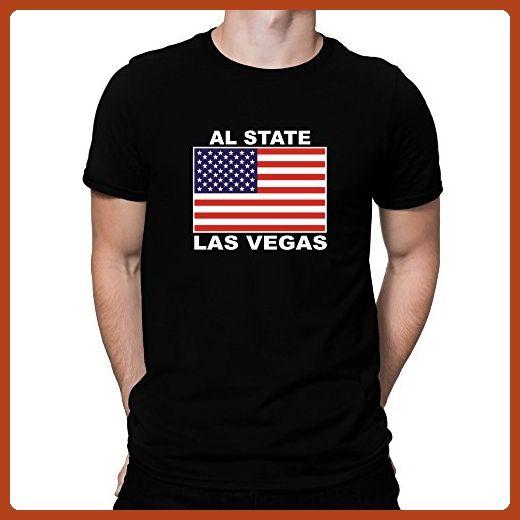 Teeburon Las Vegas state usa T-Shirt - Cities countries flags shirts (*Partner-Link)