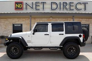 2010 Jeep Wrangler Unlimited Sport >> 2010 Jeep Wrangler Unlimited Sport Lifted 4wd Fort Worth Tx