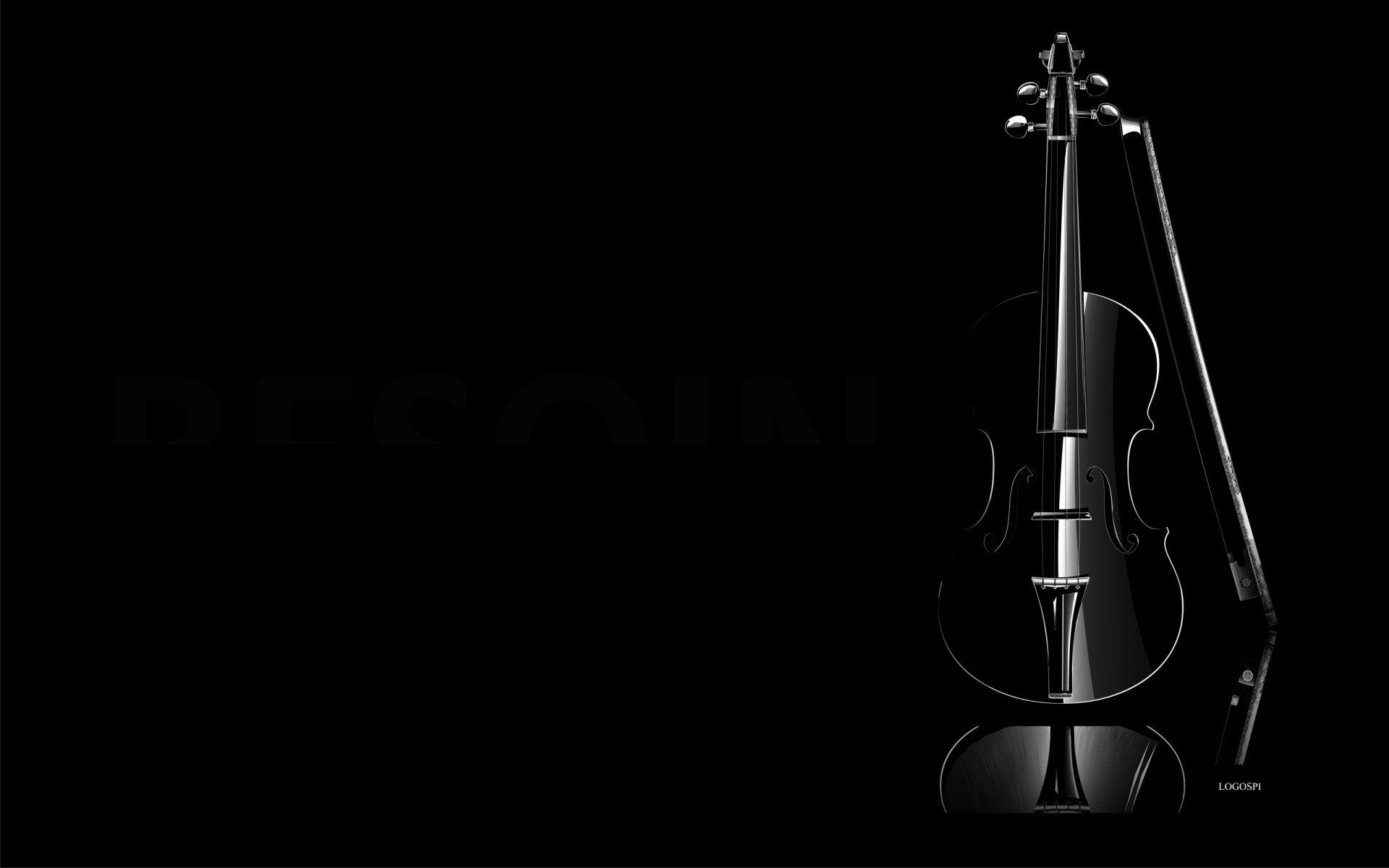 1920x1200 Black Violin Black Violin Black Wallpaper Violin
