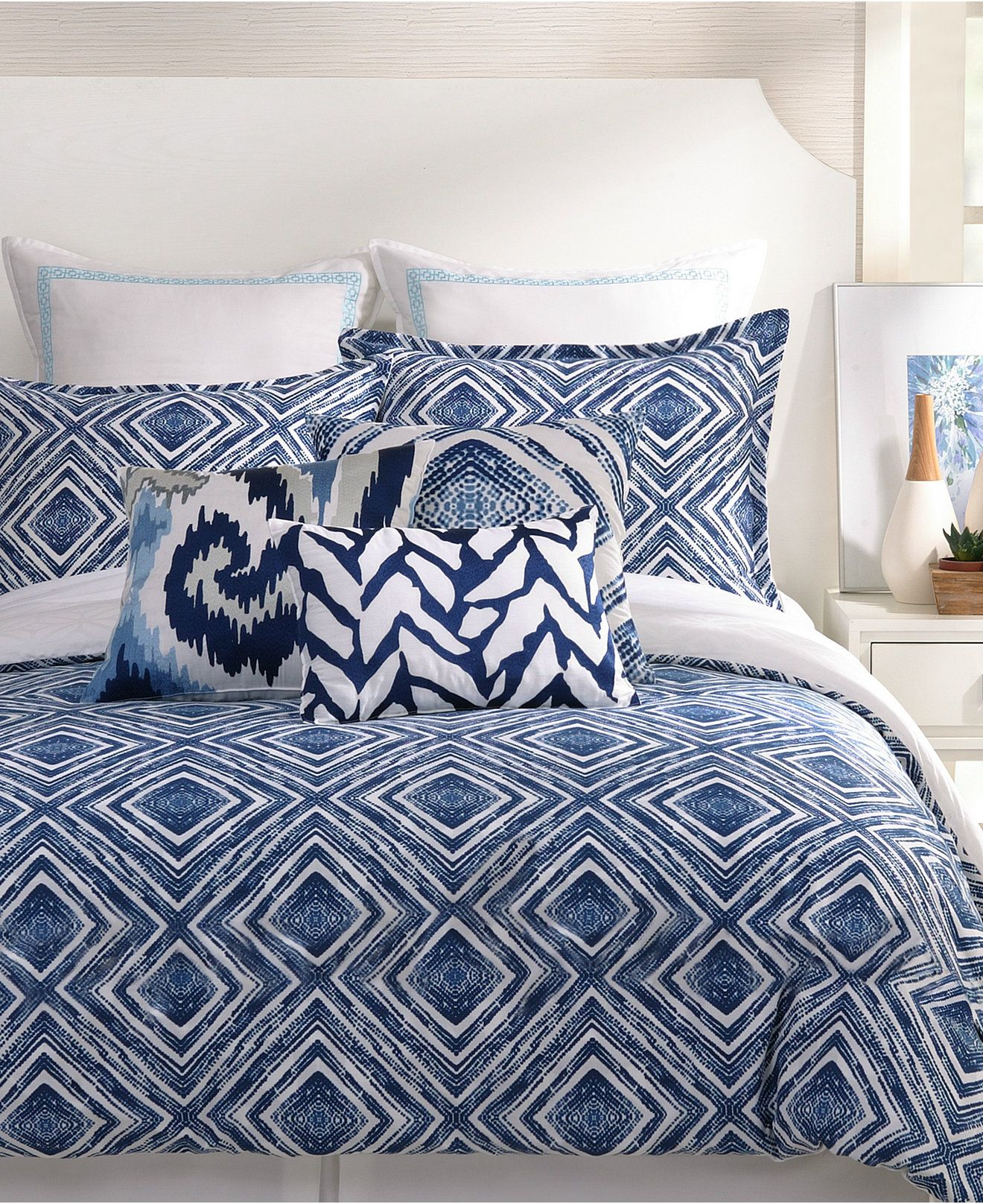 Trina turk bedding - Trina Turk Silver Lake Comforter And Duvet Cover Sets Bedding Collections Bed Bath