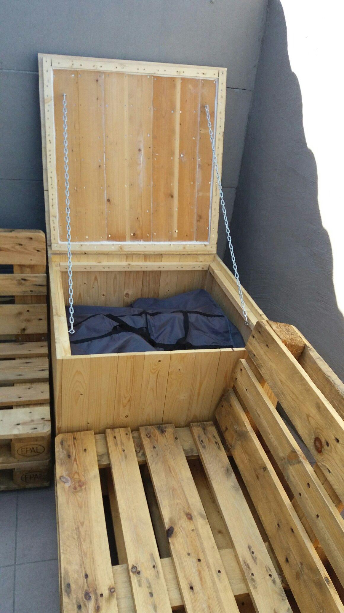 Opbergbox Met Waterdichte Zak Voor Kussens
