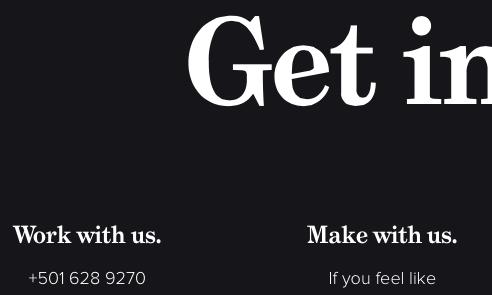 Fonts Used: Grad, Proxima Nova #Typewolf Typography