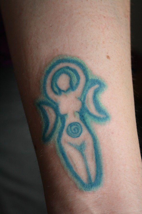 Spiral Moon Goddess Tattoo By Astanax Goddess Tattoo Goddess Symbols Moon Tattoo