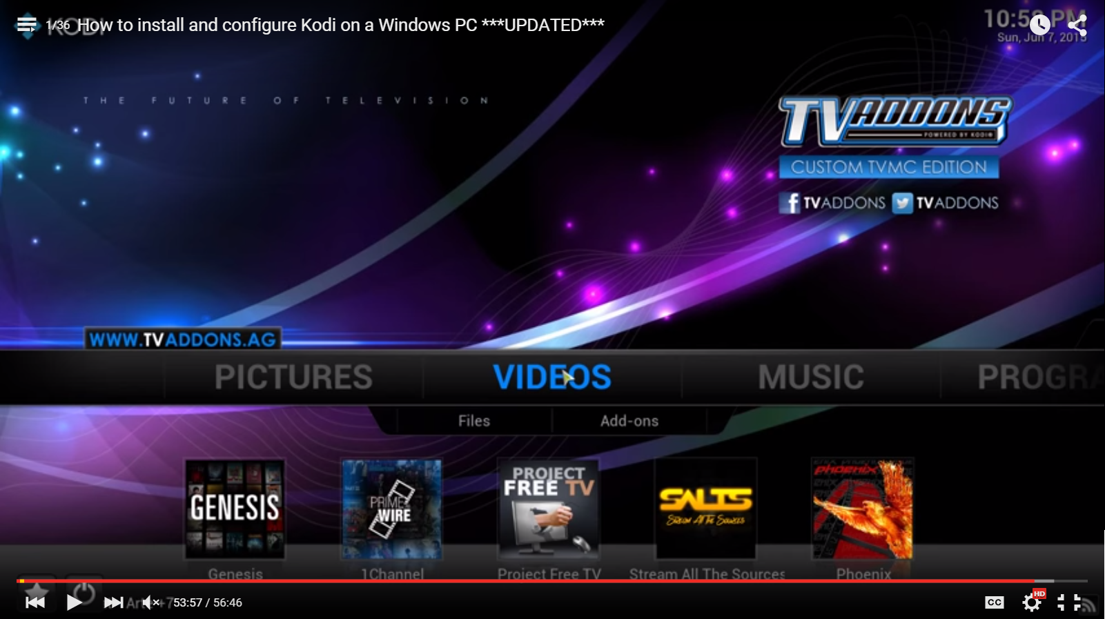 How To Install Kodi Tv Addons On A Windows Pc Kodi Pinterest Tvs How To  Install