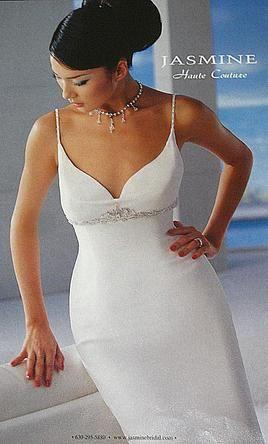 $195Sample Jasmine Wedding Dress Haute Couture, Size 6