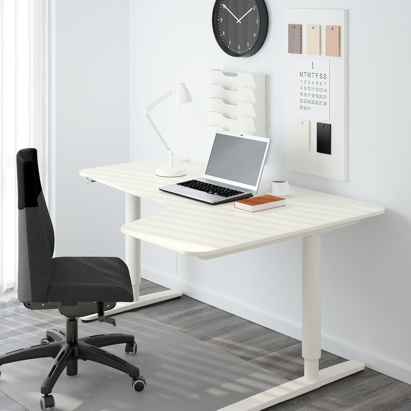 Bekant Ecktisch Rechts Sitz Steh Weiss Ikea Osterreich In 2020 Ikea Bekant Ikea Corner Table