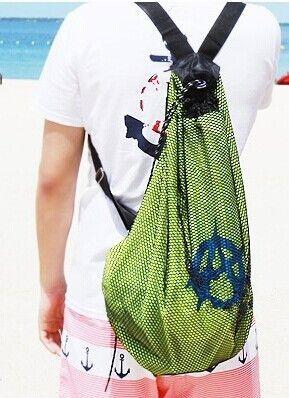 Drawstring Backpack Hipster Glasses Shoulder Bags