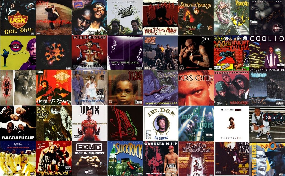 Hip Hop 80's & 90's Collage !! (With images) Hip hop