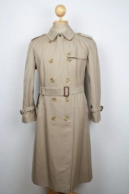 c06025481fb Superb Womens BURBERRY London Belted Trench Over Coat Beige Size 18 ...