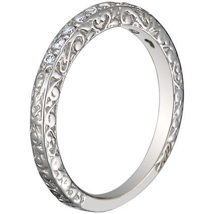 Antiques For Antique Scroll Wedding Ring wwwantiqueslinkcom