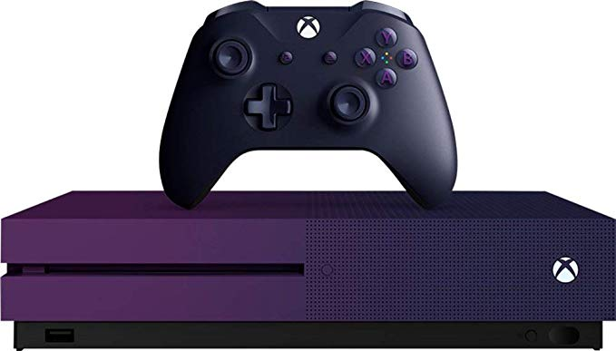 Microsoft Xbox One S Limited Edition Gradient Purple 1tb Console Xbox One S Xbox One Xbox One S 1tb