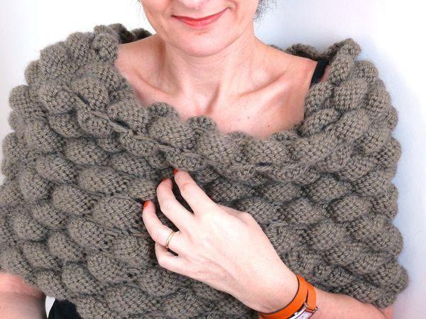 Bien-aimé Le tuto de ce bandeau d'épaule, à tricoter aux aiguilles 7 et au  GT63