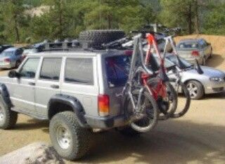 Nice Bike Rack I Wish The Picture Wasn T Blurry Jeep Xj Jeep