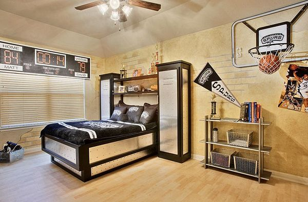 Awesome Basketball Themed Rooms For Your Youngsters Sporty