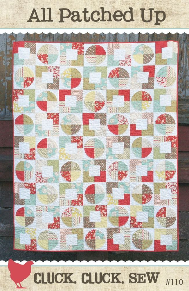 Circle and square quilt | quilting | Pinterest