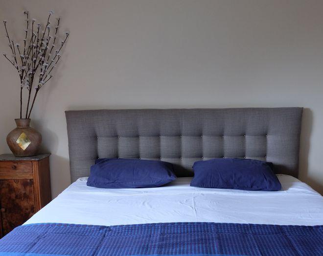 Tete de lit 15 mod les faire soi m me sweet home - Faire une tete de lit en tissus ...