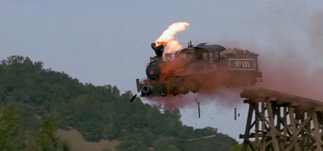 The 8 Coolest In Camera Movie Train Crashes Train Crash Train Abandoned Train