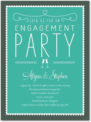 CoolNew Create Easy Engagement Party Invitation Free Templates - engagement party invitations free