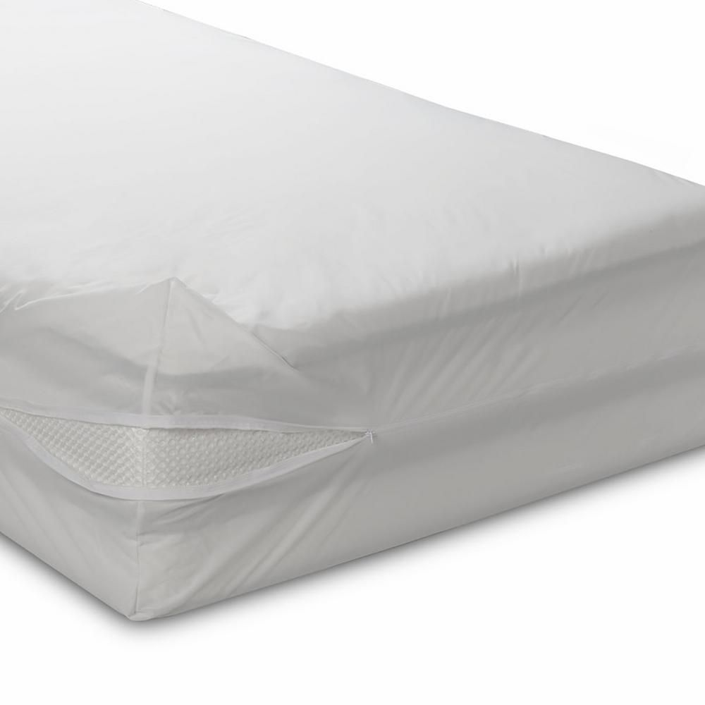 Bedcare Classic Allergen Polyester 12 In Deep Long Full Mattress Cover 17s 5480 The Home Depot Full Mattress Mattress Mattress Covers