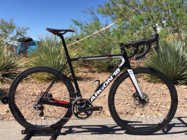 IB16: New Argon 18 Gallium Pro Disc brake road bike is lighter than rim brake…