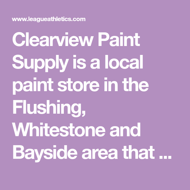 clearview paint supply is a local paint store in the on benjamin moore paint stores locations id=64940
