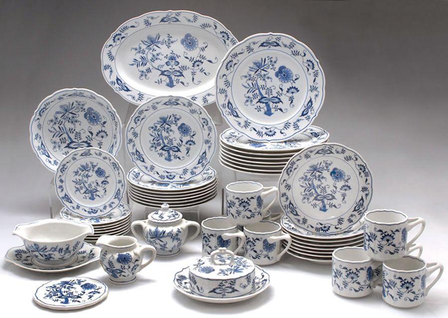Blue Danube China Set Blue And White Dinnerware Blue Danube China Blue Dishes