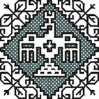 Embroidery and embroider, Assisi embroidery: small designs.