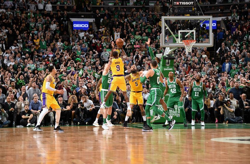 Los Angeles Lakers Win Over Boston Celtics Could Provide A Spark Nba Lakeshow Cusrise Lakers Lakers Win Los Angeles Lakers