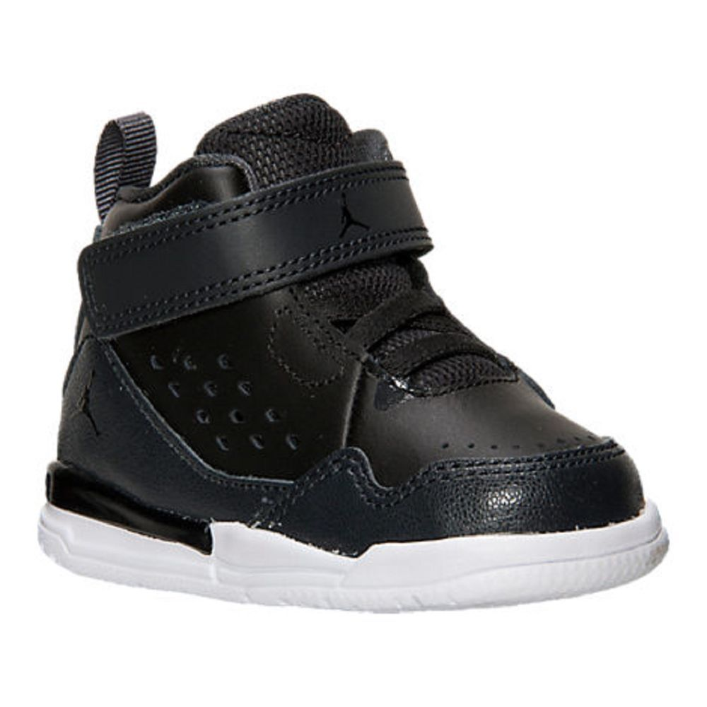 0a07b2529db4fc ... Baby Boys Shoes Jordan SC-3 Basketball Shoes Toddler Size 7 BlackWhite  ...