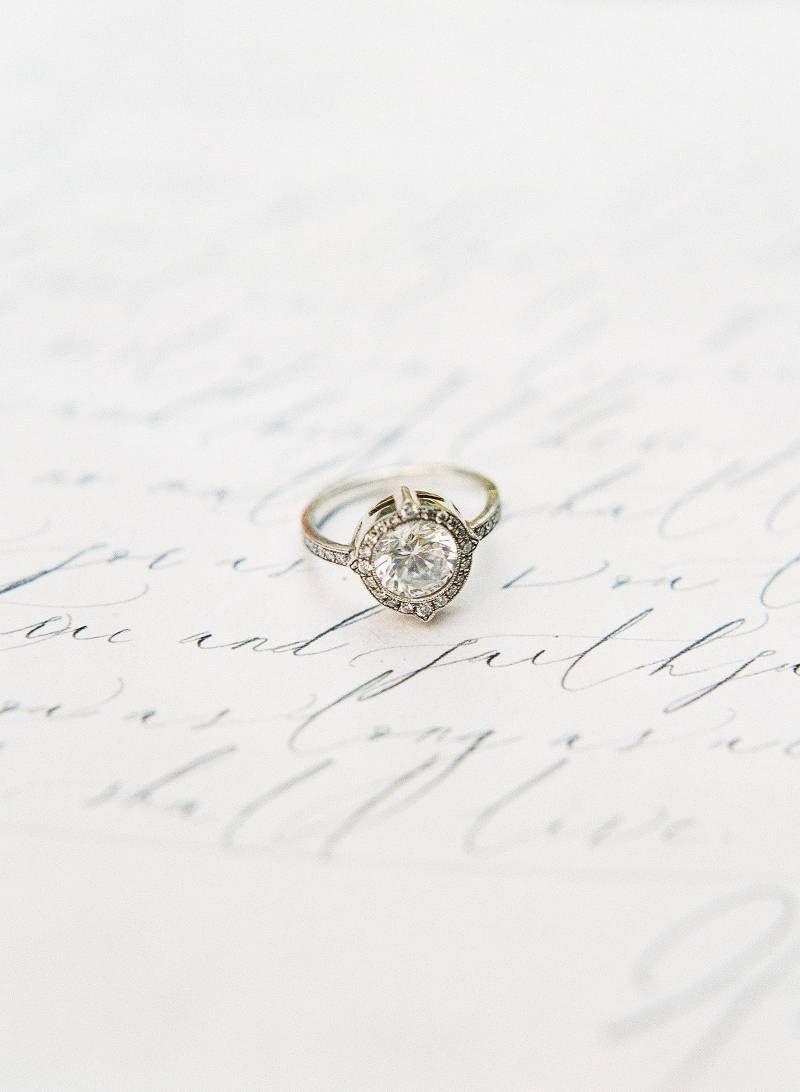 Stunning romantic Tuscan Engagement Inspiration via Magnolia Rouge
