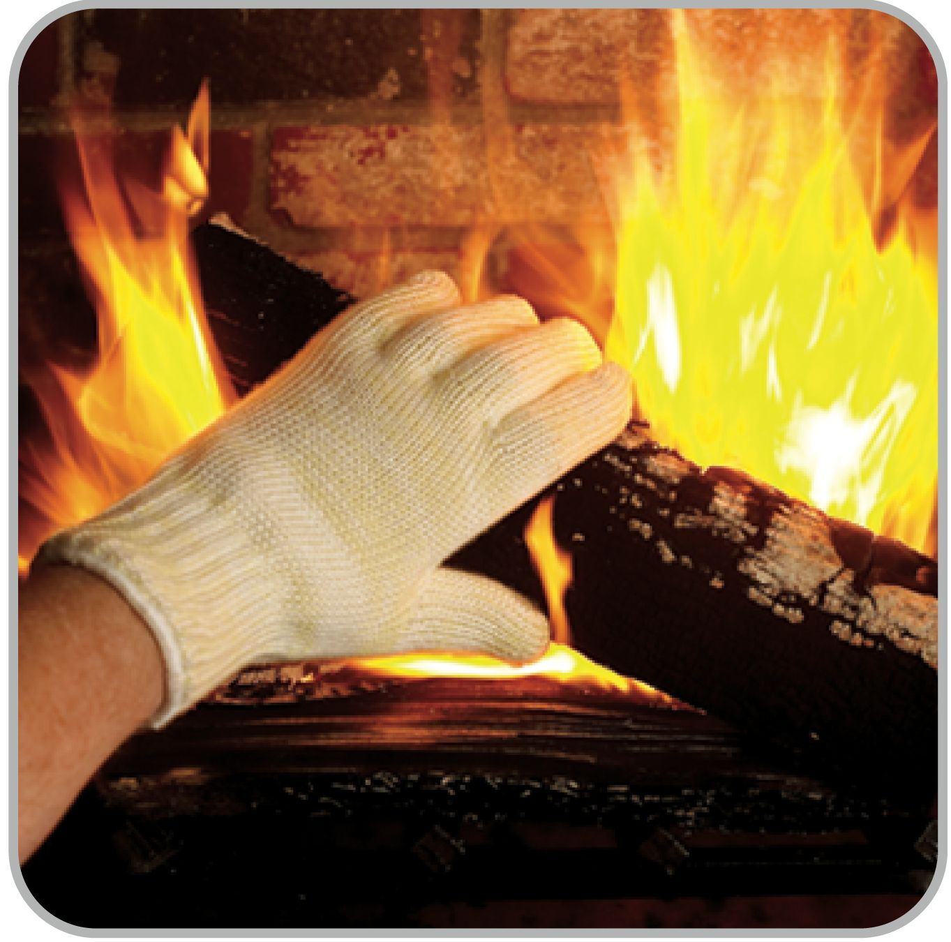 use your handyman u0027s ove glove when working with the fireplace use